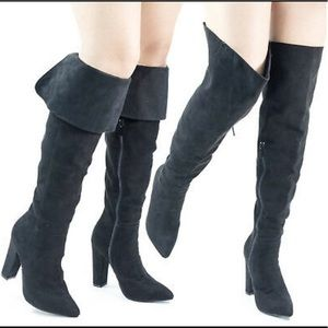 Madam37 Foldable Over the Knee Boot Size 8